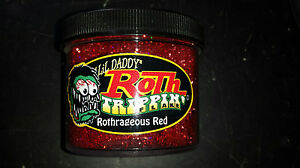 Lil Daddy Roth Metal Flake trippin Rothragious Red
