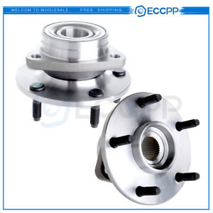 New Front Wheel Hubs Bearings Pair Set Of 2 Fits 94 99 Dodge Ram 1500 4wd 4x4