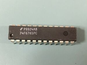 Lot Of 45 Rare New Fairchild 74f676spc Ic Shift Register Ser par 24 Dip