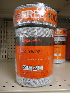 Gallagher Polywire Combo Roll 1320ft Plus 300ft Free