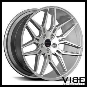 20 Giovanna Bogota Silver Concave Wheels Rims Fits Lexus Is250 Is350