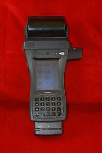 Casio It 3000 Handheld Scanner It 3000m55u With Ir And Card Readers