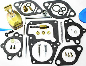Carburetor Kit Float Fits Continental F163 Engine Ca10f345 Ca10f328 13738