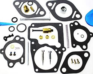 Carburetor Kit Fits Continental F163 Engine Ca10f345 Ca10f328 13506 13738