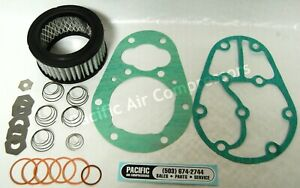 Kellogg American 325 Head Overhaul Kit Gaskets Valve Disc Air Compressor Parts