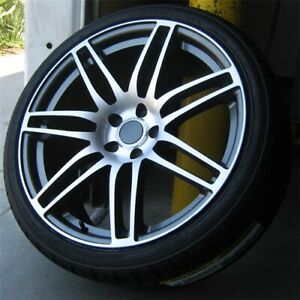 4 20x9 0 5x130 Rs Style Wheels Tires Pkg Audi Q7 Vw Touareg Cayenne Turbo Gt