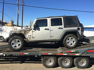 07 2010 Jeep Wrangler Jk 4 2 Door Frame Chassis Front Section We Cut For You