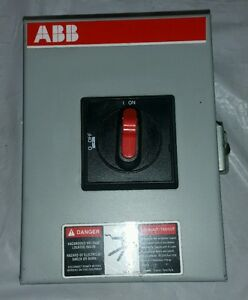 Abb Enclosed Disconnect Switch Nf321 3pbjc