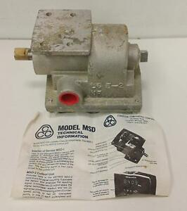 Conveyor Components Co Motion Switch Model msd L6 5 2