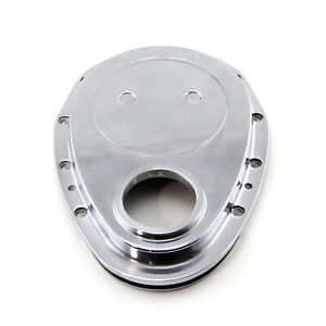 Fit Chevy Sbc 350 Aluminum Timing Chain Cover Polished