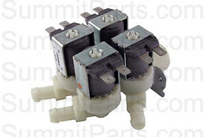 Water Valve 4 way G thd 220v 50 60hz For Unimac Washer F381723