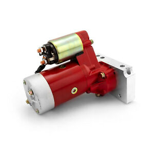 Chevy Sbc 350 Bbc 454 10 153t 11 168t Mini Muscle 4hp Starter Motor Red