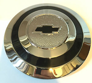 Chevrolet Chevy Wire Wheel Type Chrome Hubcap 6 5 Outside Diameter 1930 1934