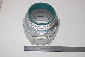 New Topaz 268i Rigid Connector Compression Type Insulated Throat Steel 3