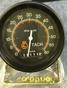 71727 00 Datcon Tachometer And Hour Meter 0 6000 Rpm