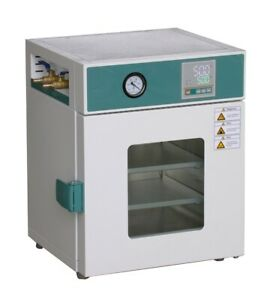 New Stainless Steel Digital Vacuum Drying Oven 250 c 12x12x11