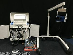 Pds 200 Dental Or Veterinary Portable Operatory Delivery And X ray incredible