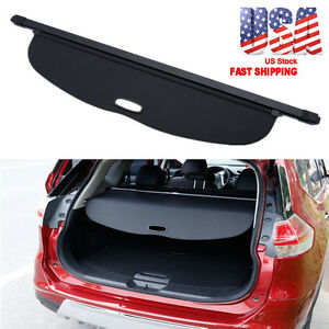 Rear Trunk Cargo Luggage Cover Shield For Nissan Rogue Sv X trail T32 2014 16 b