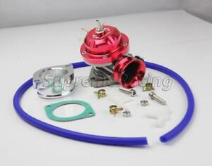 Universal Billet Aluminum Type Rs Turbo Blow Off Valve Bov Blue With Gasket New