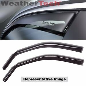 Weathertech Side Window Deflectors For Mitsubishi Lancer 2008 2015 80466