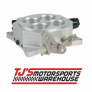 Msd 2250 Pro Billet Throttle Body 4 Barrell 1000 Cfm Square Bore Flange
