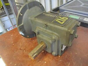 Winsmith 917 Speed Reducer 917mdn Ratio 10 1 1 25hp In 396 Lb in Torque Out Used