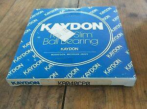 Kaydon Bearing Ka040cp0 Radial deep Groove Ball Bearing 4 In Id 4 1 2 In Od