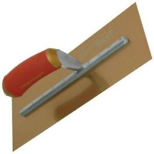 Marshalltown 16x5 Pre Broken In Plaster Trowel Golden Stainless Steel Hand Tools