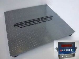 10000lb Ntep Industrial Floor Scale Legal Trade 5 X 5 Free Freight Shipping