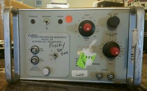 Eg g Model 118 114 Differential Preamplifier