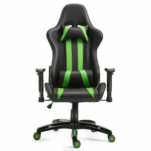 Executive Racing Style High Back Gaming Chair Reclining Chair Office Computer