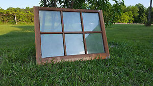 Vintage Sash Antique Wood Window Picture Frame Pinterest Wedding 32 X 24