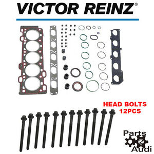 Victor Reinz Engine Cylinder Head Gasket Set With Bolts Fits Volvo S40 V50