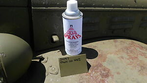 Military Spray Paint Wwii 34087 Olive Drab Flat Mb Gpw Wc Dodge