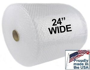 4 Rolls 3 16 Small Bubble Roll 24 Wide 175 Feet Per Roll Shipping