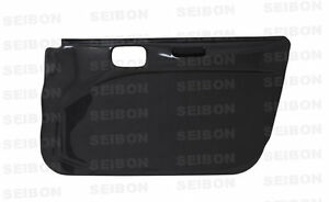 2003 2007 Mitsubishi Lancer Evo 8 9 Carbon Fiber Door Panels Dp0305mitevo8 f