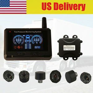 Tpms Tire Pressure Monitoring System 6 Tire Pressure Sensor Trailers Rv Tpms