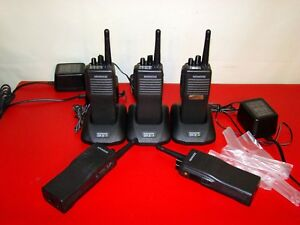 Lot Of 5 Kenwood Tk390 Tk 390 Uhf Fm Transceiver Two way Radio Tk390 Tk 390 5w