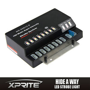 Hide a way 8 Socket Led Emergency Strobe Light Replacement Control Box
