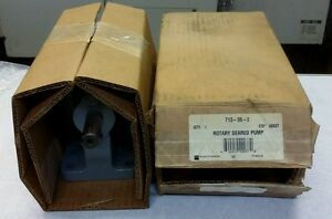 Brown Sharpe Rotary Geared Pump 713 55 2 New locgc1