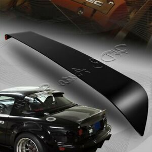 For 1990 2005 Mazda Miata Hard Top Smoke Acrylic Rear Window Roof Visor Spoiler