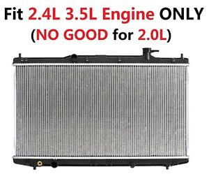 Radiator 13363 Fit 2013 2017 Honda Accord 2 4l 3 5l Only No Good For 2 0l