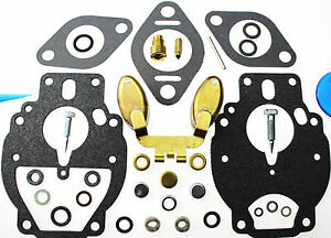 Carburetor Kit Float Fits Massey Ferguson Combine 90 Chrysler 251 220287m91 Ford