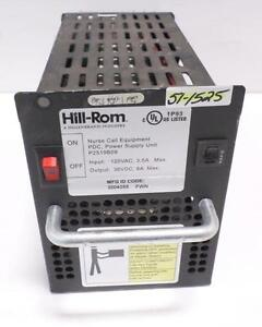 Hill rom 120vac 3 5a Nurse Call Equipmentpdc Power Supply Unit P2519b09
