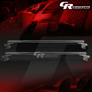 54 Black Billet Roof Rack Van Car Suv Top Crossbar Luggage Bag Cargo Aero Rail