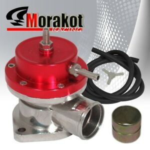 New Auto Universal Bov Red Turbo Blow Off Valve Type s Adjustable Psi Boost