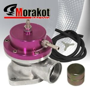 New Auto Universal Bov Turbo Blow Off Valve Type s Adjustable Psi Boost Purple