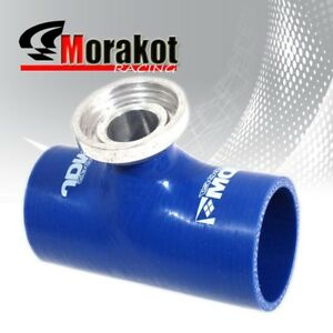 2 5 Inch Turbo Bov Blow Off Valve Silicone Coupler Pipe Adapter Sqv Ssqv Blue