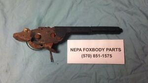 87 93 Fox Body Mustang Emergency Brake Handle Lever Handle Parking Oem Ford