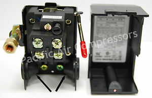 Two Stage Air Compressor Pressure Switch Single Port 145 175 Psi